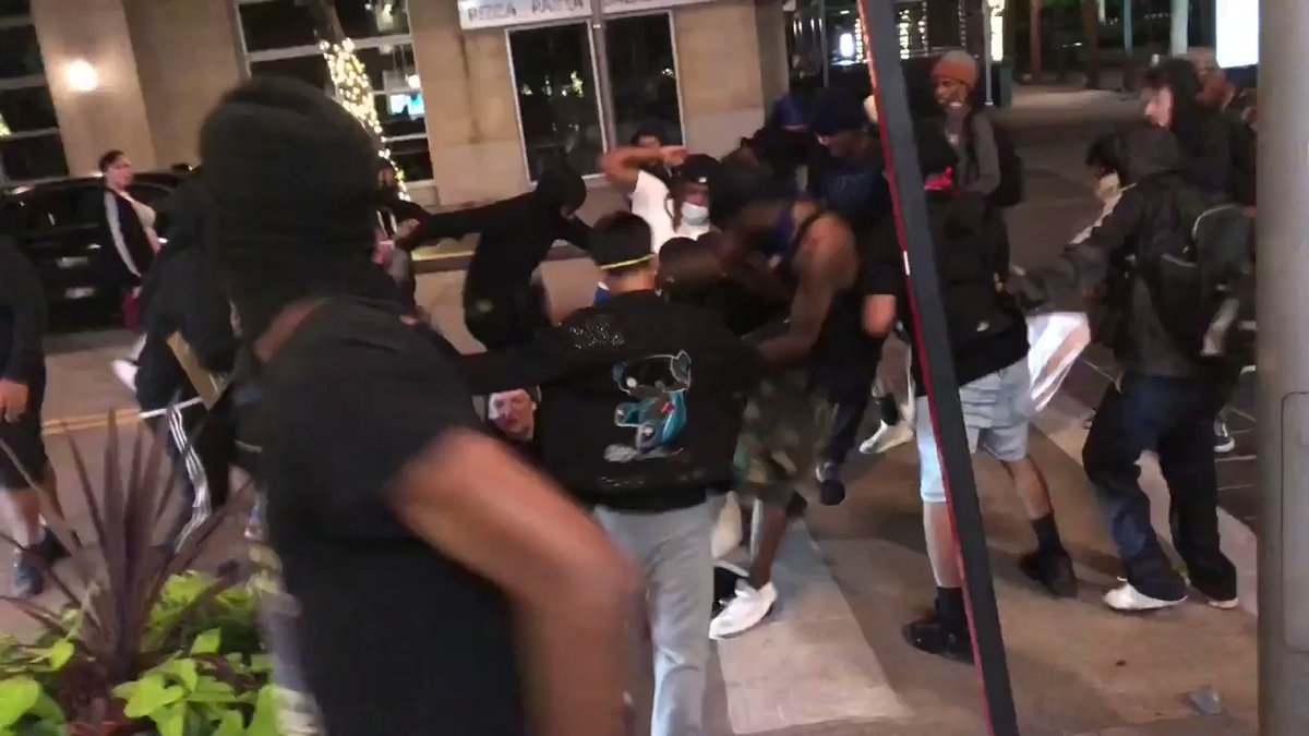 Breaking911 - GRAPHIC: Man in Dallas attempting to defend business against looters is beat with skateboard, stomped, and stoned nearly to death.   His condition is not known.