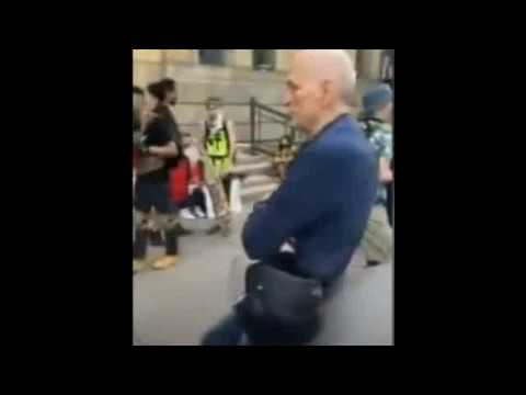 75 Year Old - 100% Staged Fall...End of Story