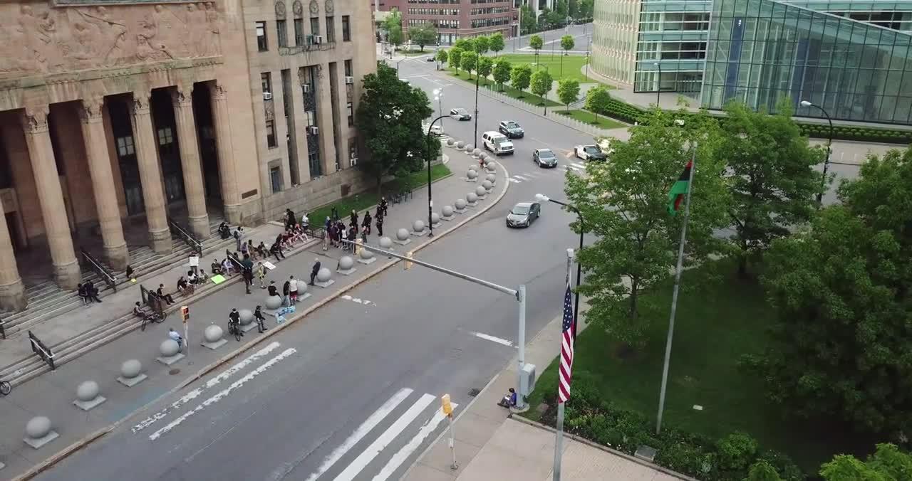 Injured Protester Buffalo NY 6-4-2020