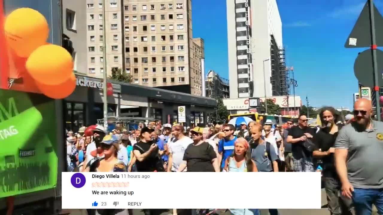 Coronavirus: Over ONE MILLION Germans March Against Tyranny