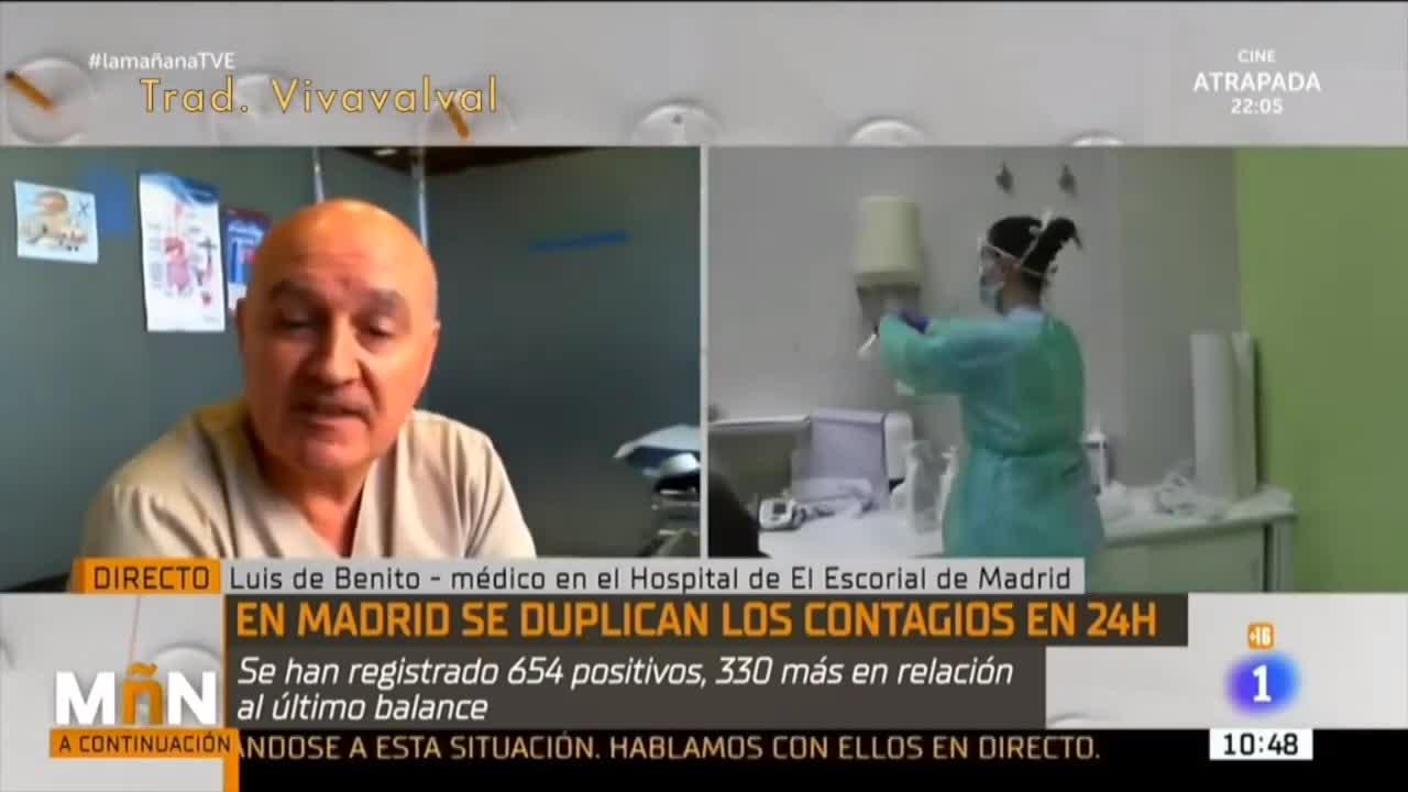Coronavirus: Spanish Dr On Live TV Tells Truth Like A Boss