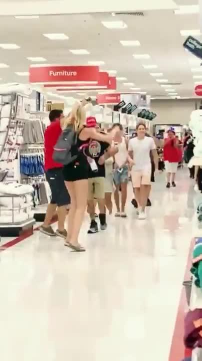 Target anti-mask parade
