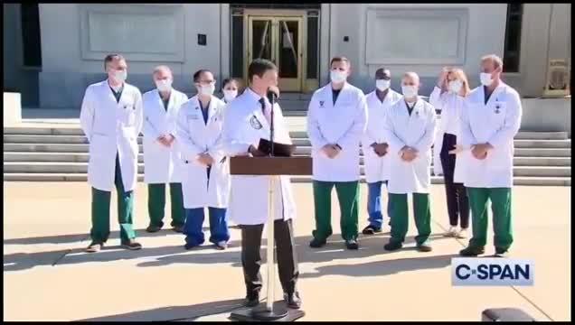 BEHOLD: Trumps Elite COVlD Medical Super Team Entourage