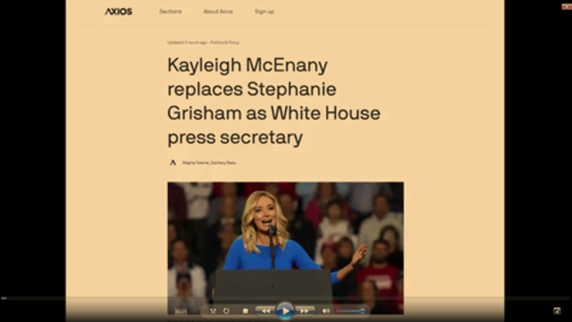 Meet The New White House Press Secretary - Same as the Old White House Press Secretary