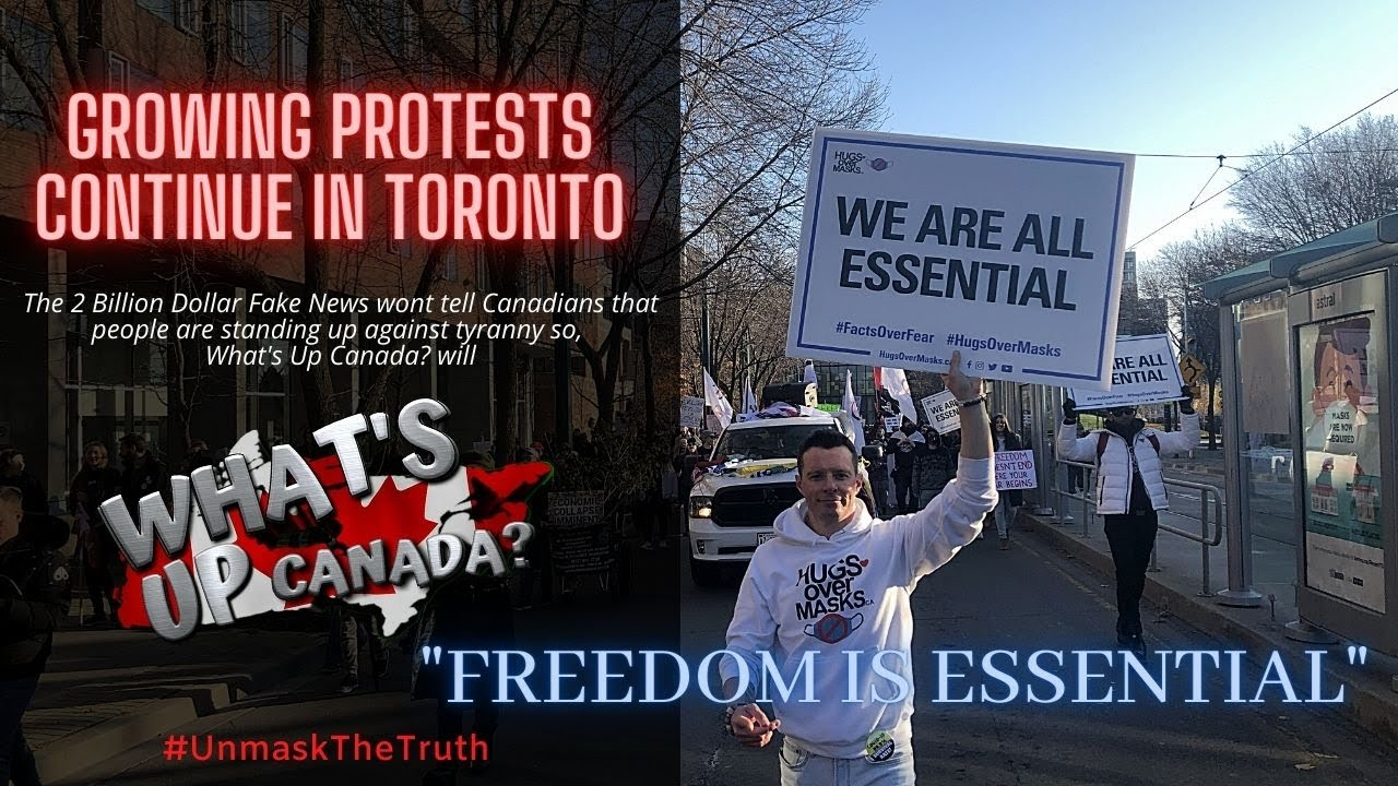 A Taste of Freedom is Essential Toronto Rally