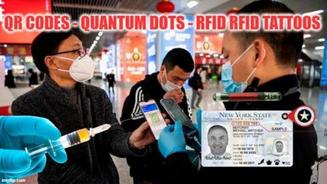 QR Codes - Quantum Dots - RFID Tattoos