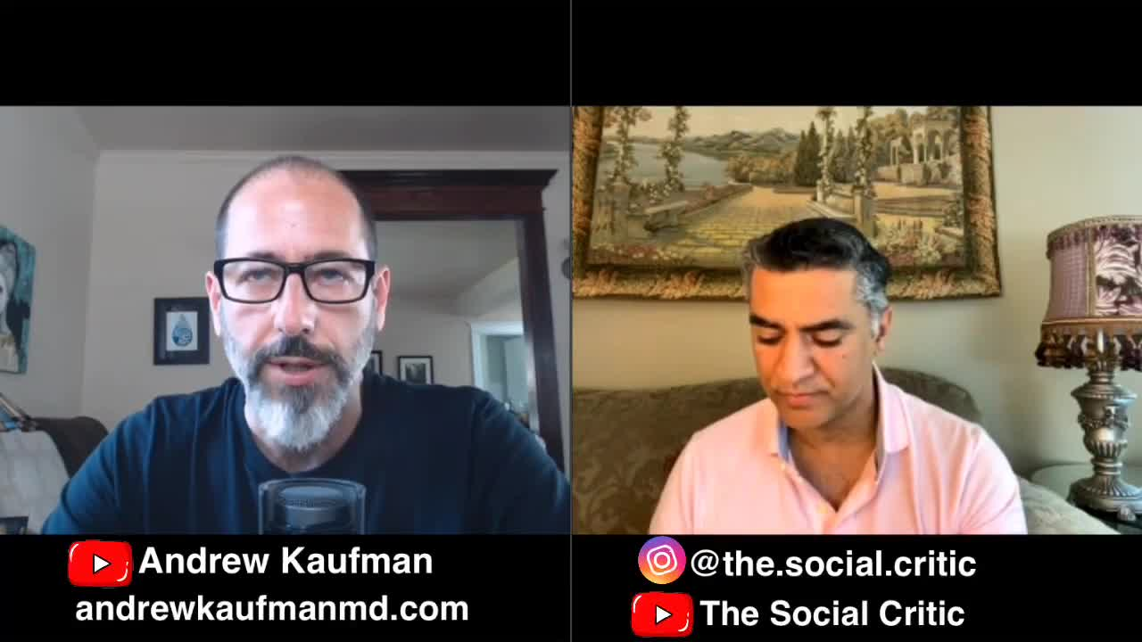 The Religion of Mainstream Modern Medicine and the Covid Plandemic - Dr. Andrew Kaufman MD Interview