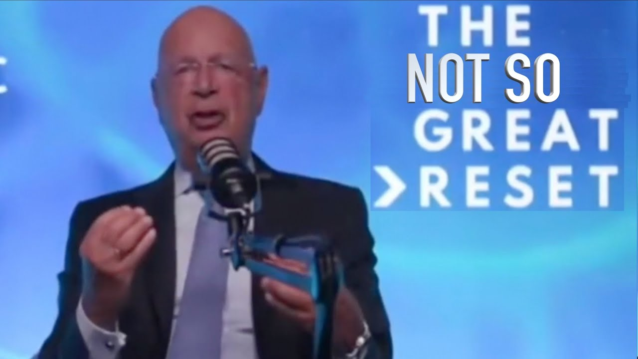 Klaus Schwab and The Not So Great Reset (Satire)