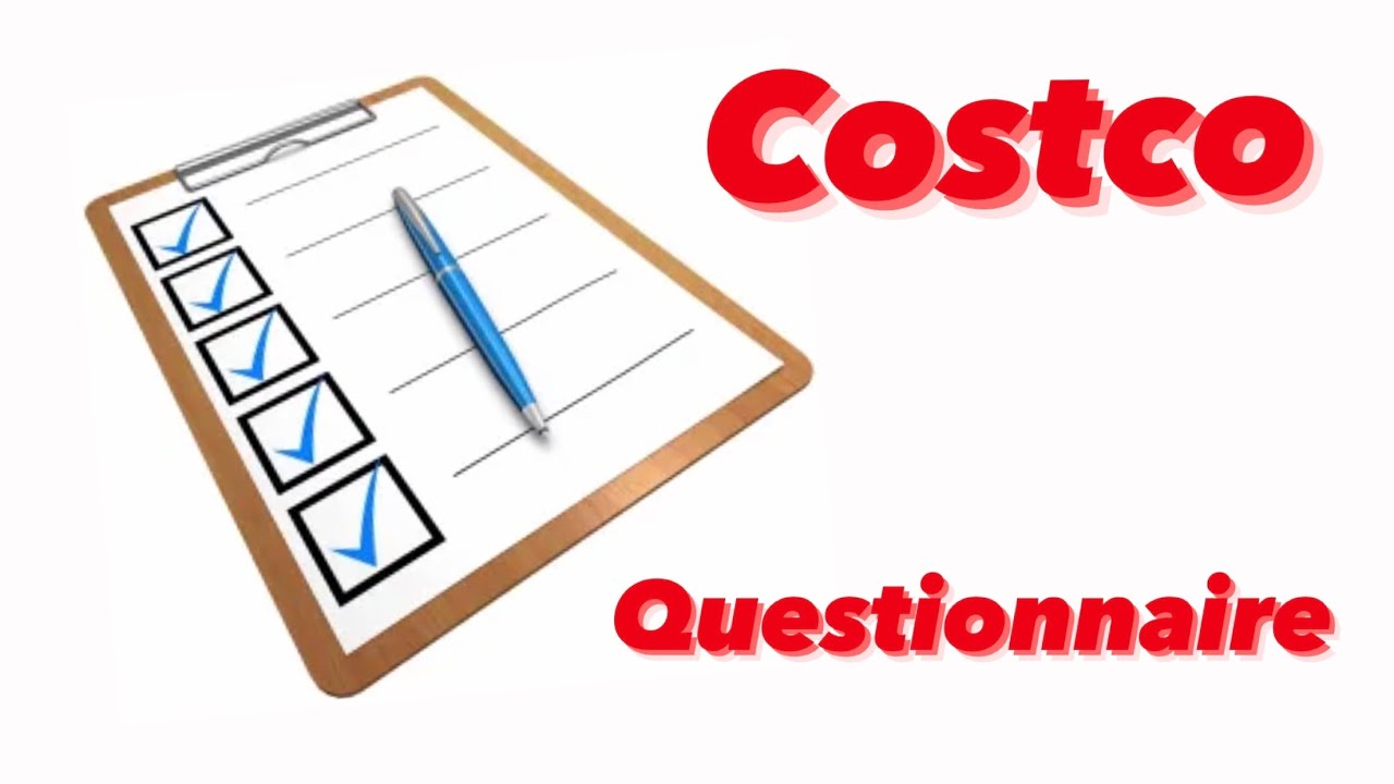 ✅ Cost-co 'Are You Aware?' Questionnaire