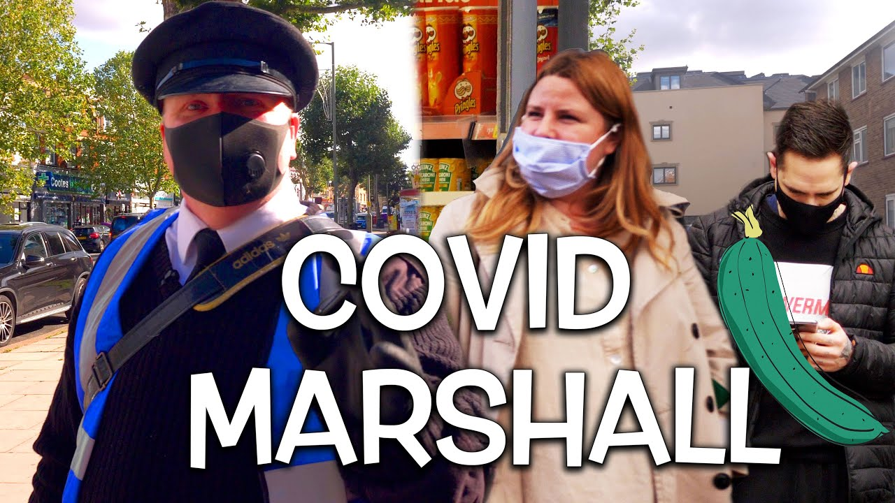 Covid Marshall Officer   Day in the Life of the Marshalls