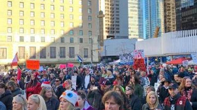 Dec 5th Saturday Vancouver Freedom Rally