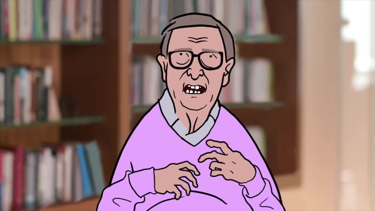 Bill Gates finally tells the truth  Animation