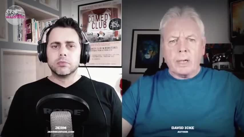 What The Hell Is Going On? - David Icke On Jermwarfare Podcast