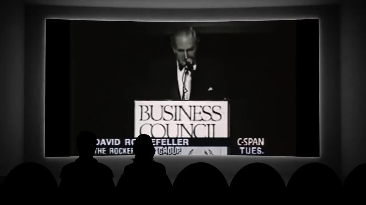 David Rockefeller Passes the Eugenics Torch to Bill Gates