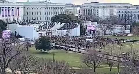 Empty inauguration
