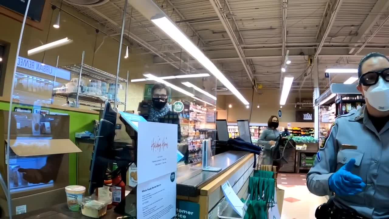 Madness at Wholefoods! Almost ARRESTED over the Mask!