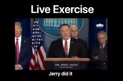 It's an exercise Mike Pompeo