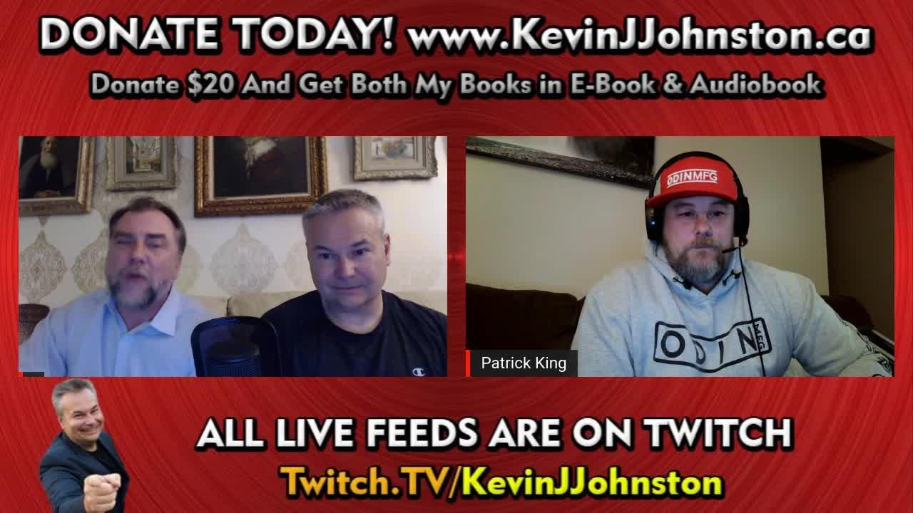 Kevin J Johnston announcement