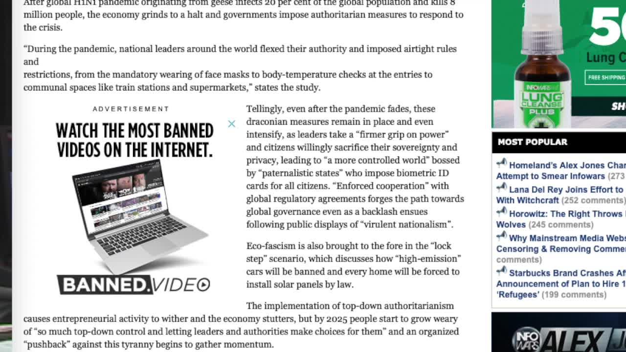 Rockefeller Study Envisages Future Dictatorship Controlled By Elite