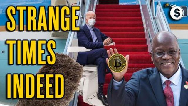 Biden Falling, Fraudci Lying, Magufuli Dying, Bitcoin Mooning!