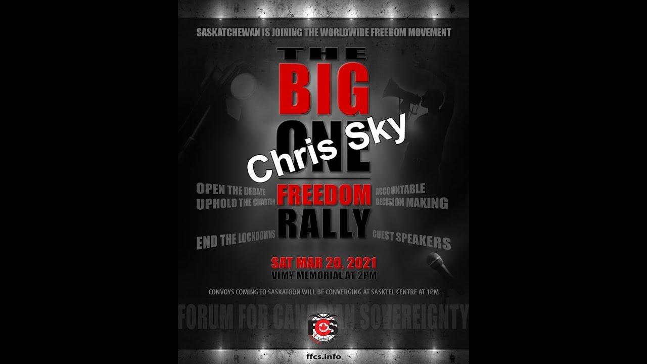 THE BIG ONE - Speech 14 - Chris Sky