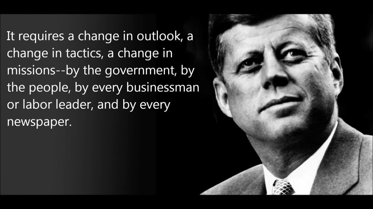 2020-11-09_@wilhelmwinkelried - John Fitzgerald Kennedy - Secret Societies Speech Full Version
