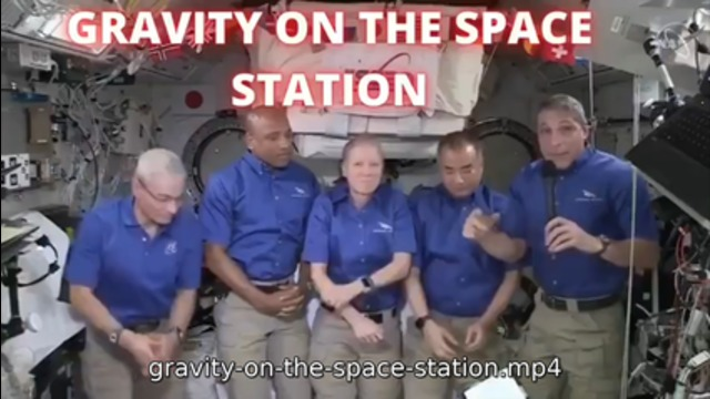 Gravity On The Space Station? =P