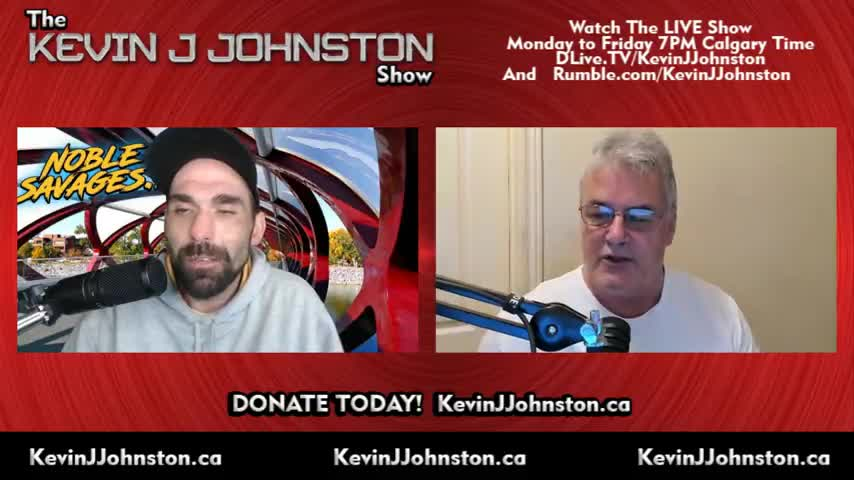 The Kevin J- Johnston Show Guess Who Is Out West