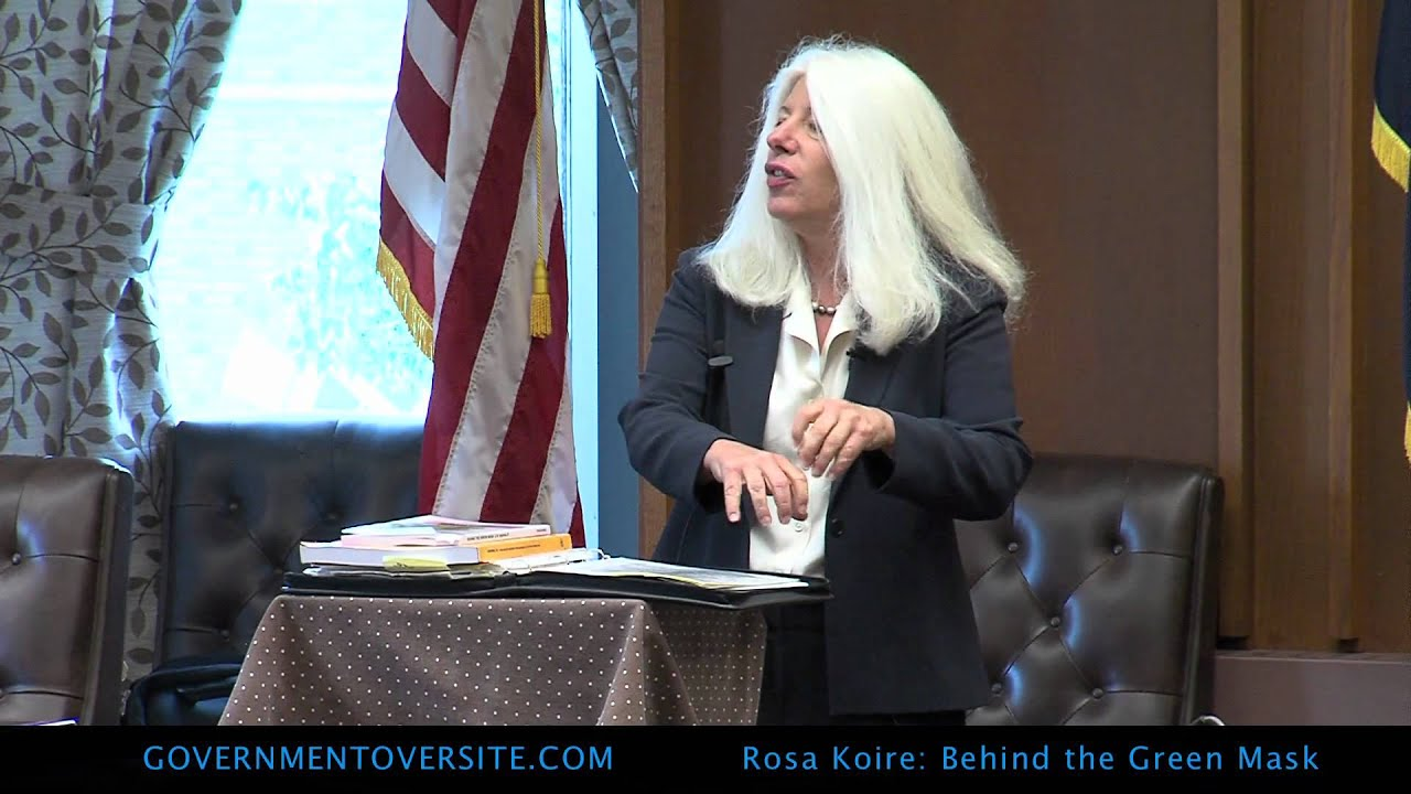 Rosa Koire, Behind The Green Mask, UN Agenda 21, 6:25:12 part 1 of 4