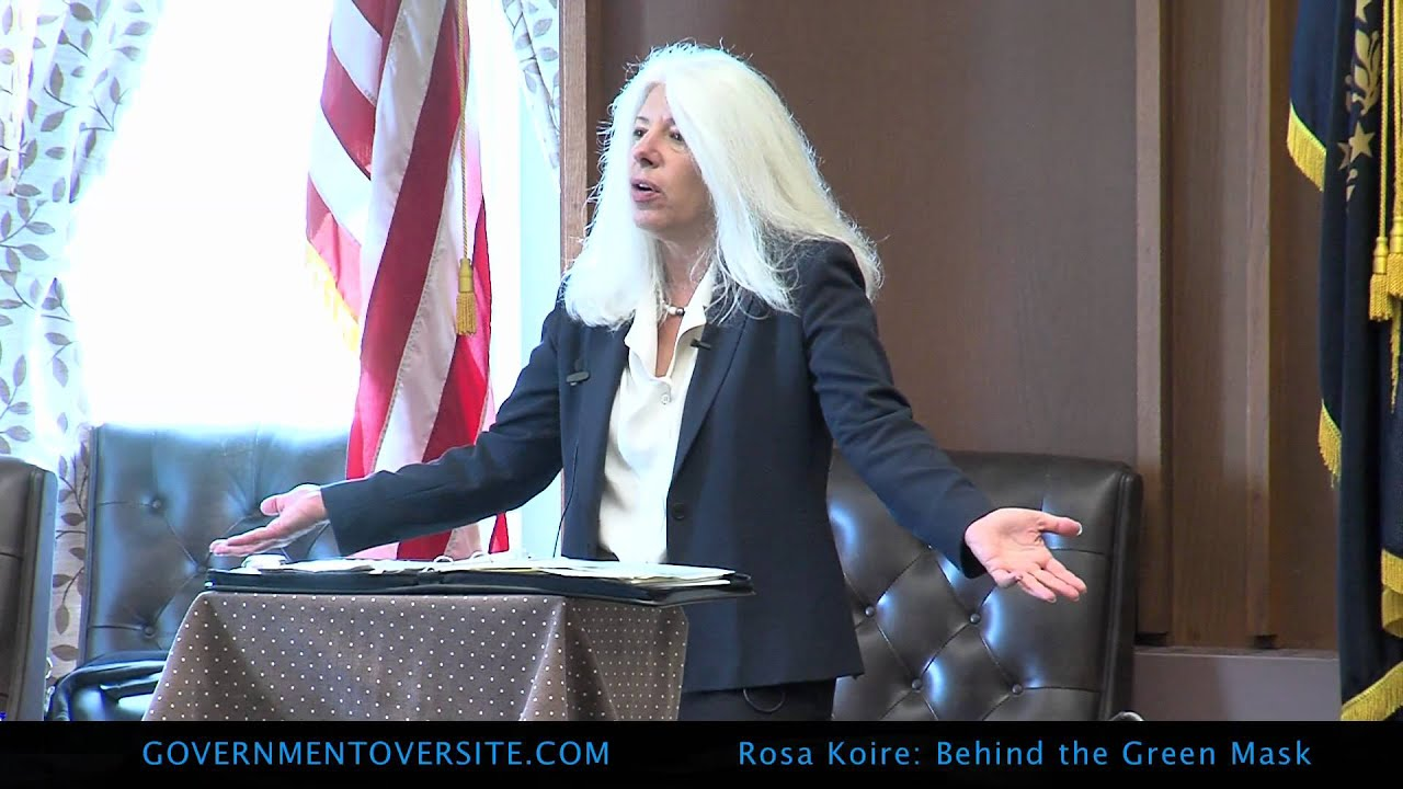 Rosa Koire, Behind The Green Mask, UN Agenda 21, :25:12 part 3 of 4