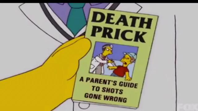 The Simpsons Predicted Forced Vaccinations and Vaccine Side Effects