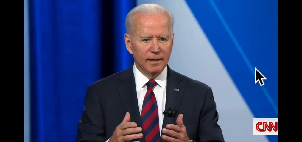 Joe Biden says democracy can't compete with autocracy