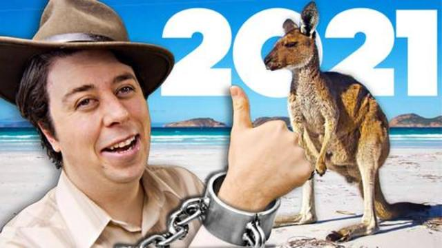 Australian Tourism Ad in 2021 (Come visit Australia... and bring HELP!!)