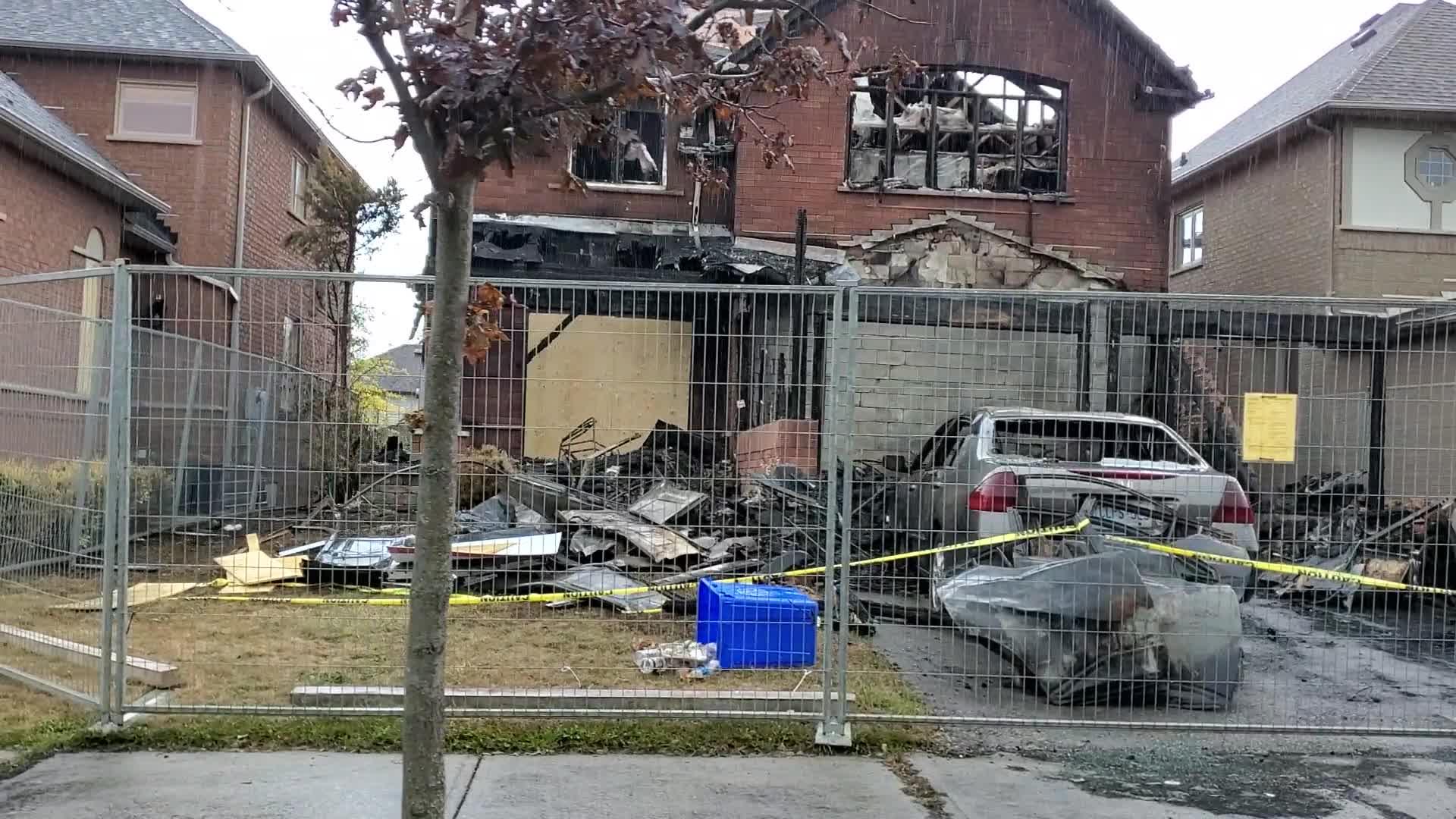 Pickering arson house