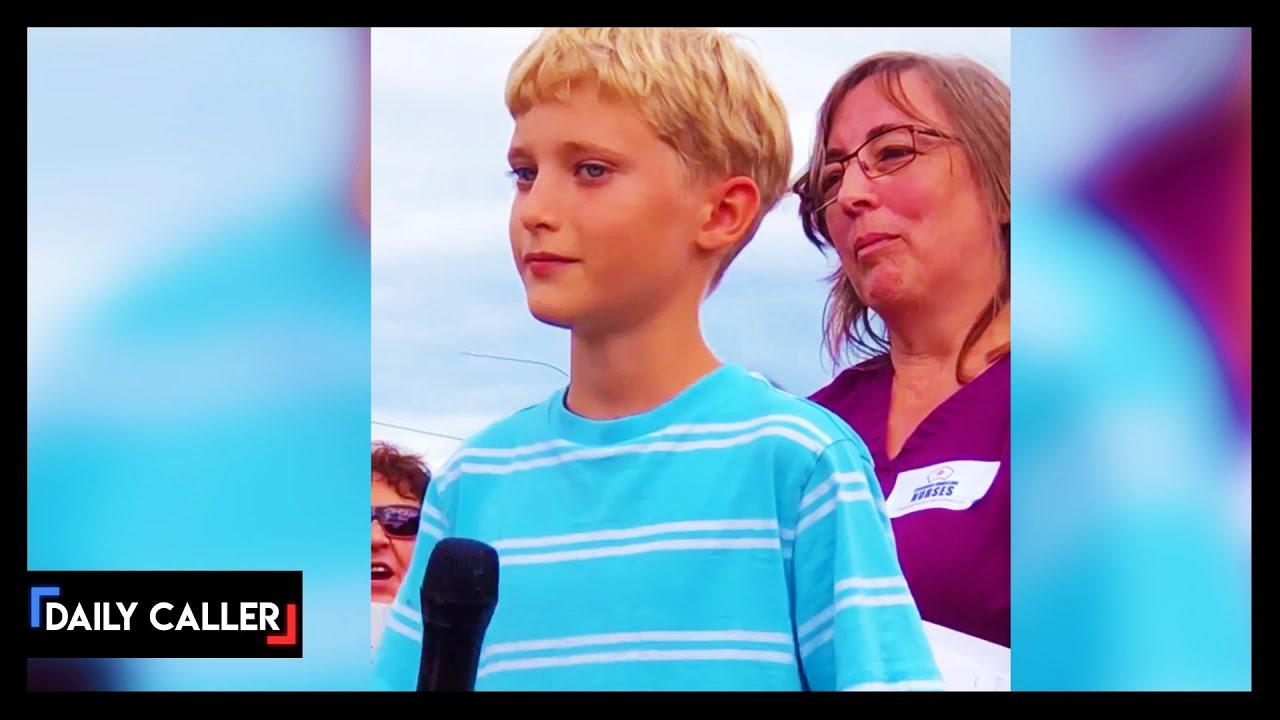 12-Year-Old Boy Slams Canada's COVID-19 Restrictions In Speech