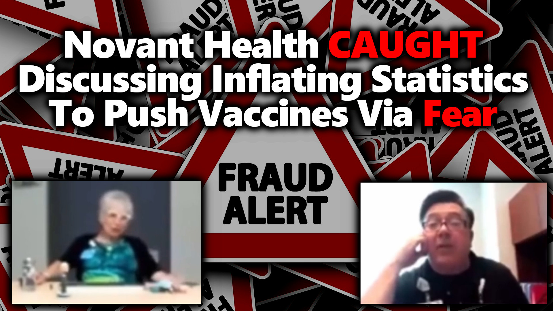 LEAKED: Novant Health BUSTED Discussing Falsifying Their Covid Stats For Vax Uptake