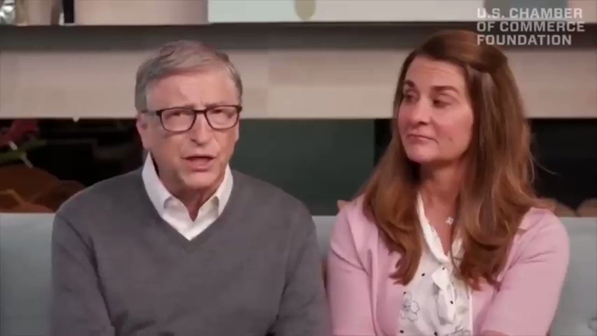 """Bill Gates """"prepare for the next one because that will get your attention this time"""" 🤷🏼♂️"""