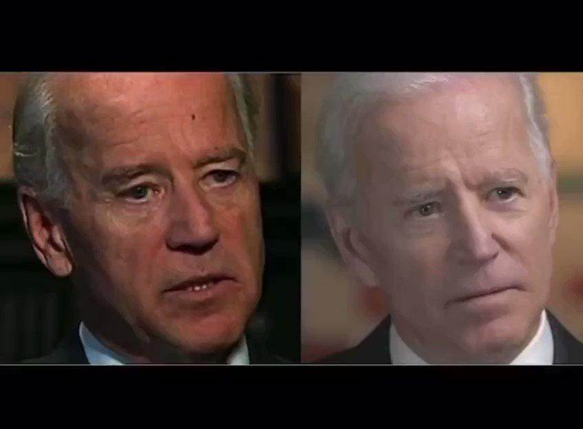 Joe Biden has been replaced