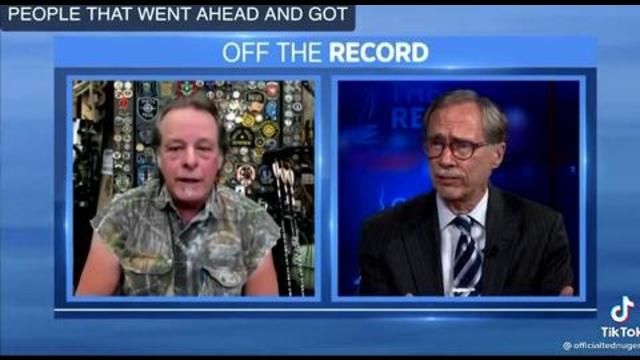 Ted Nugent speaks a language only the vaccinated can understand